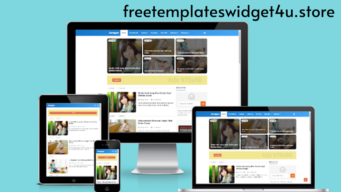 Juragan [All Version] Premium blogger Template Free Download
