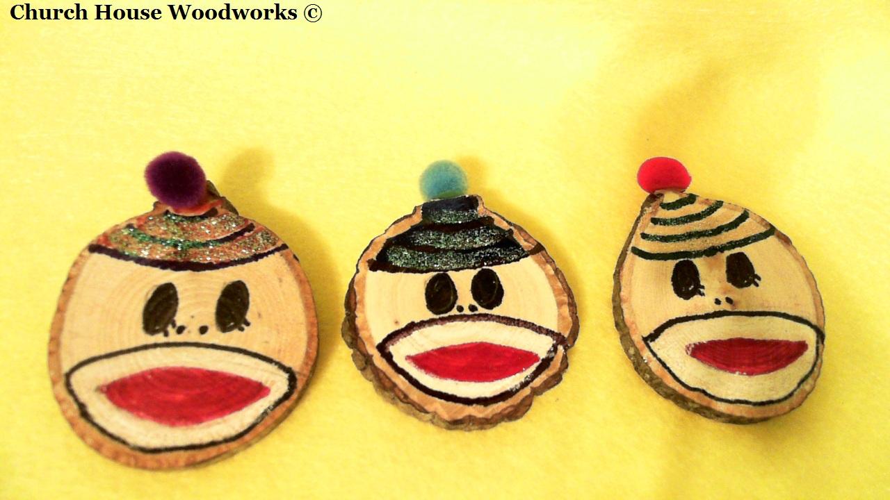Monkey Christmas Tree Ornaments