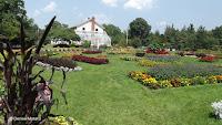 Flower beds, Elizabeth Park - West Hartford, CT