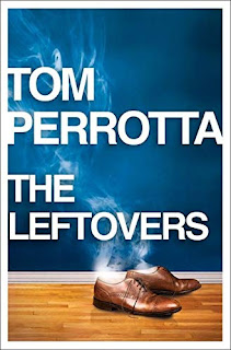 book cover - men's brown shoes with smoke coming out