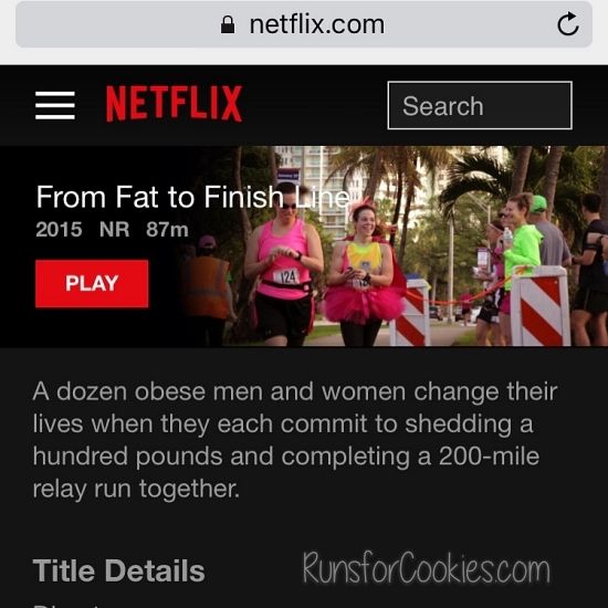 From Fat to Finish Line on Netflix