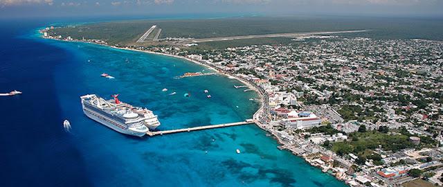 Como chegar na Ilha de Cozumel no México