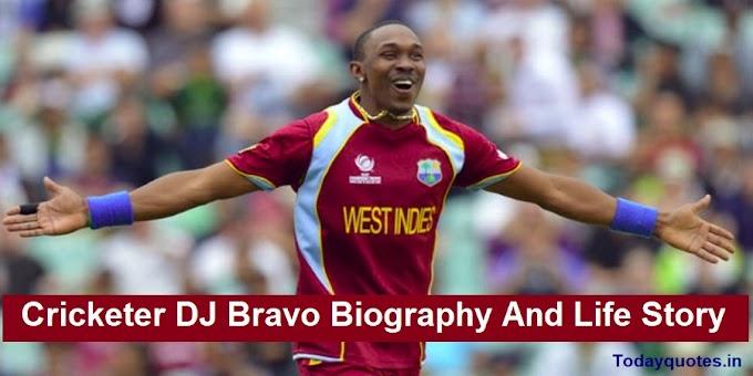 Cricketer DJ Bravo Biography and Life Story