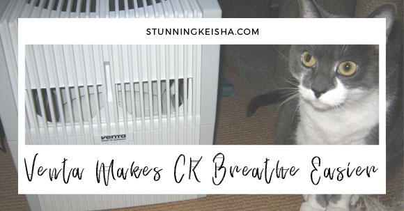 How the Venta Airwasher Helps CK Breathe Easier This Summer #sponsored