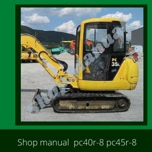 Shop Manual pc30r-8 pc35r-8 pc40r-8 pc45r-8