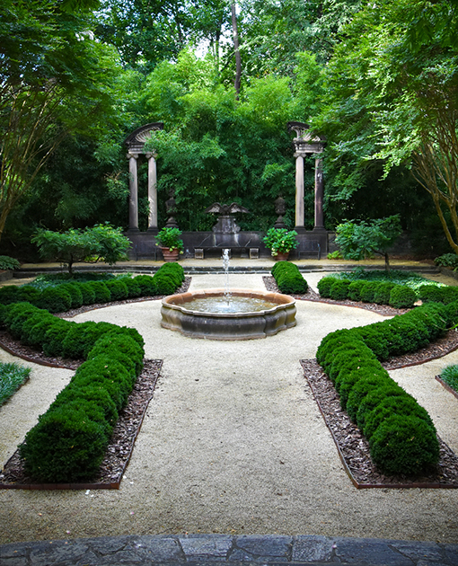 Swan House Gardens | Atlanta History Center | Photo: Travis Swann Taylor
