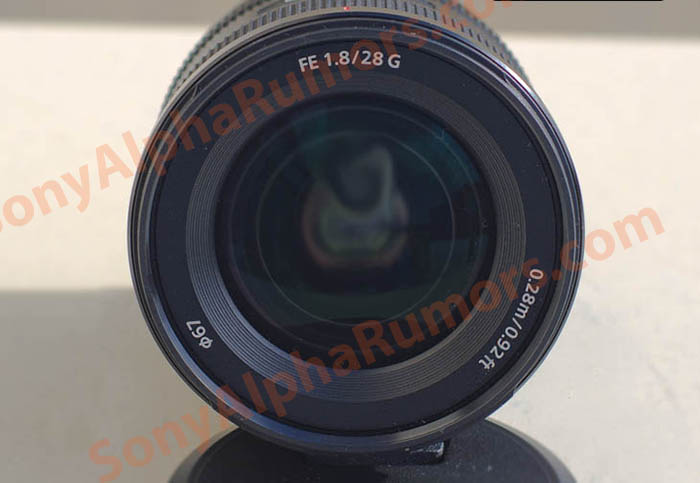 Sony FE 28mm f/1.8 G