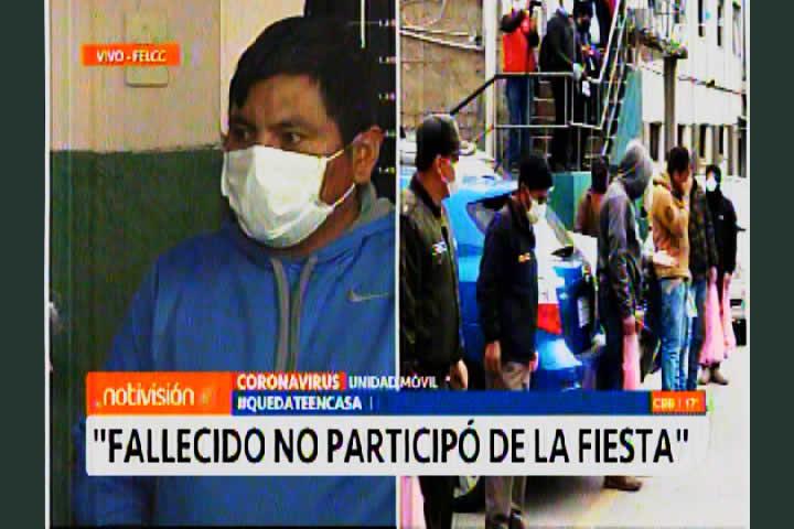 VIDEO: Preste de Patacamaya asegura que fallecido no participó de la fiesta y que tenía otra enfermedad