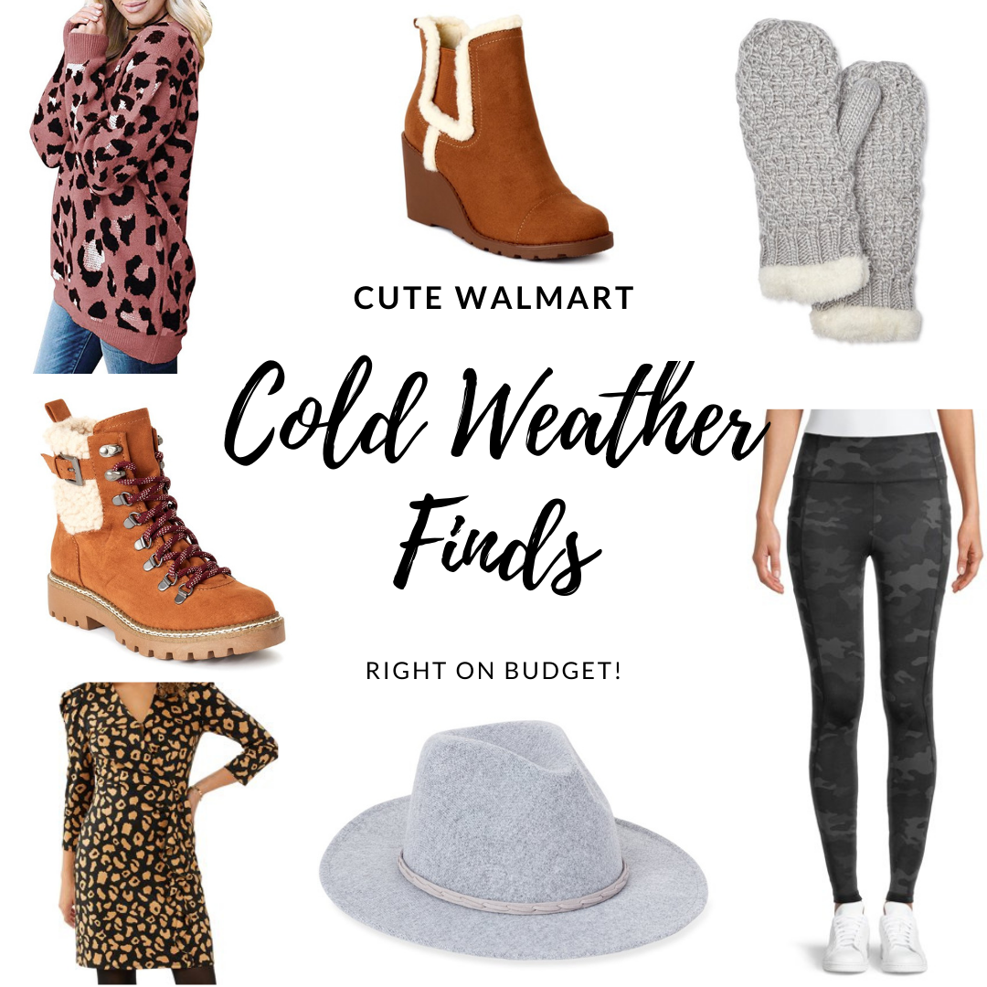 Cute Cold Weather Finds from Walmart