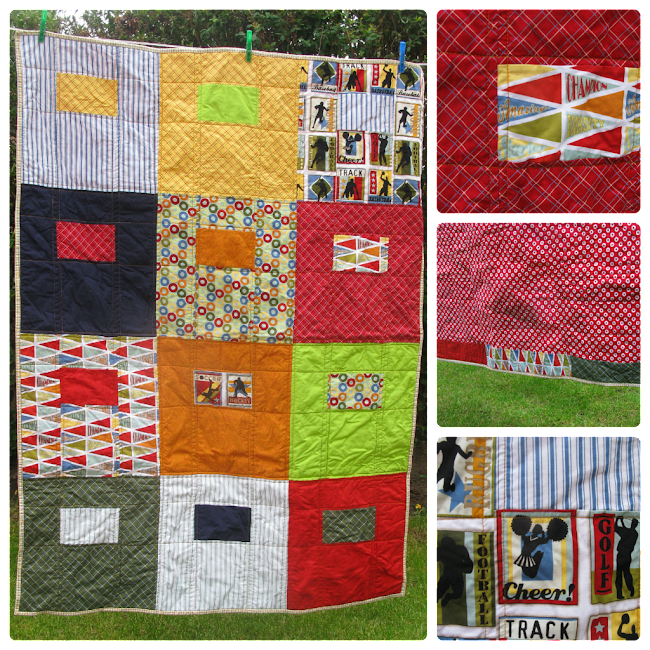 Sibling Together quilt