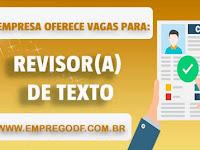 Emprego para Revisor(a) de Texto para o Gran Cursos Online