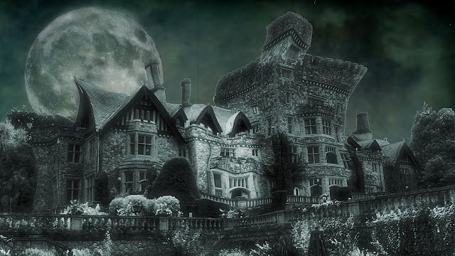 Victoria's Hatley Castle has ghosts to spare...