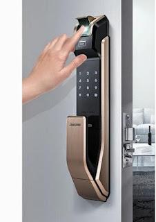 Khóa điện tử vân tay Samsung bảo mật an toàn