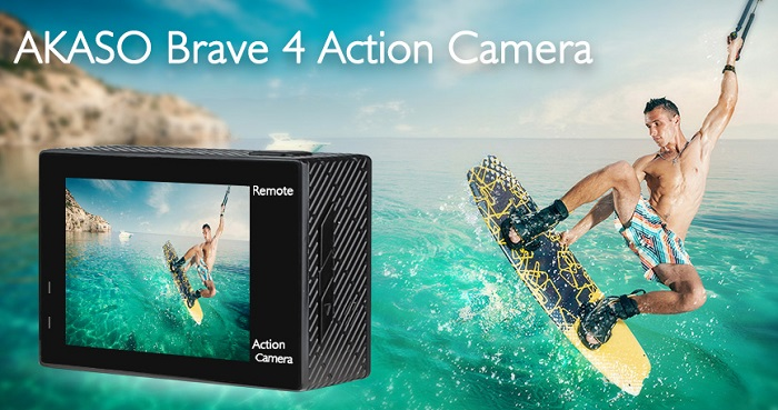 AKASO Brave 4 - 4K Waterproof Action Camera