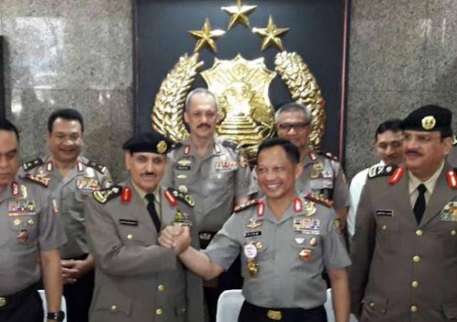 Kapolri Undang Kepala Polisi Arab Saudi ke Indonesia