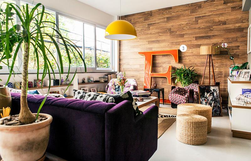 Letras na decoração: uma maneira de deixar a sua casa mais cool! | Casa&Cozinha