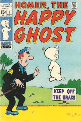 Homer the Happy Ghost #1