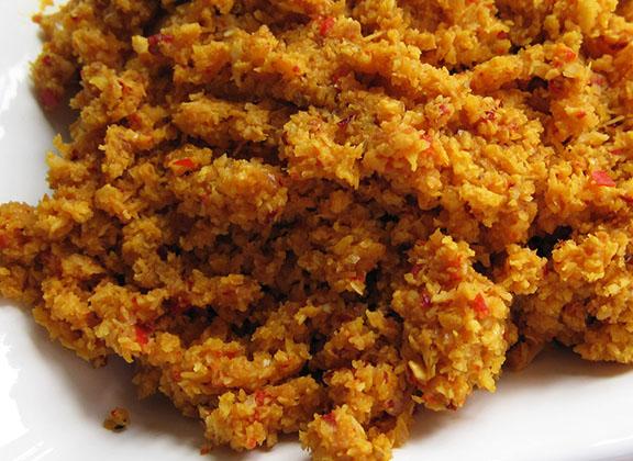 Beef rendang spice paste