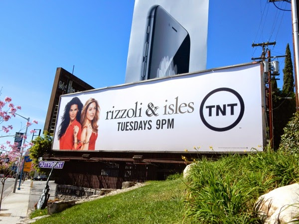 Rizzoli & Isles season 5 billboard
