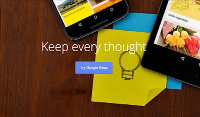 Google Keep, Aplikasi Pencatat Terbaik pada Android
