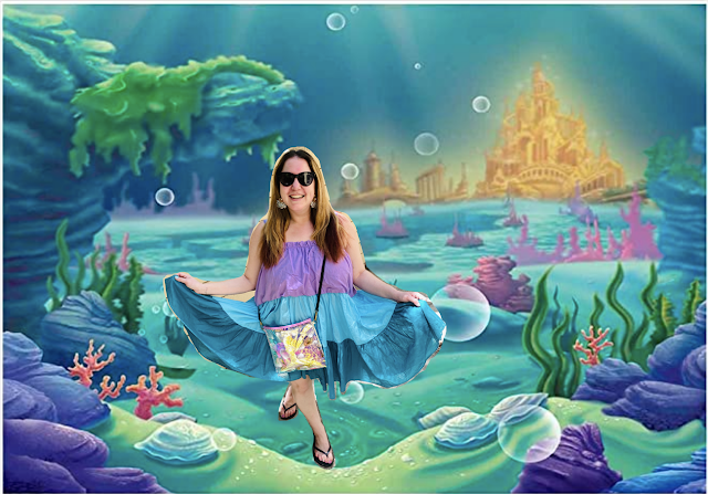 #MermaidMonday, Jamie Allison Sanders, Pitusa Lea Tea Dress, The Little Mermaid, Shopbop, Can't Clutch This
