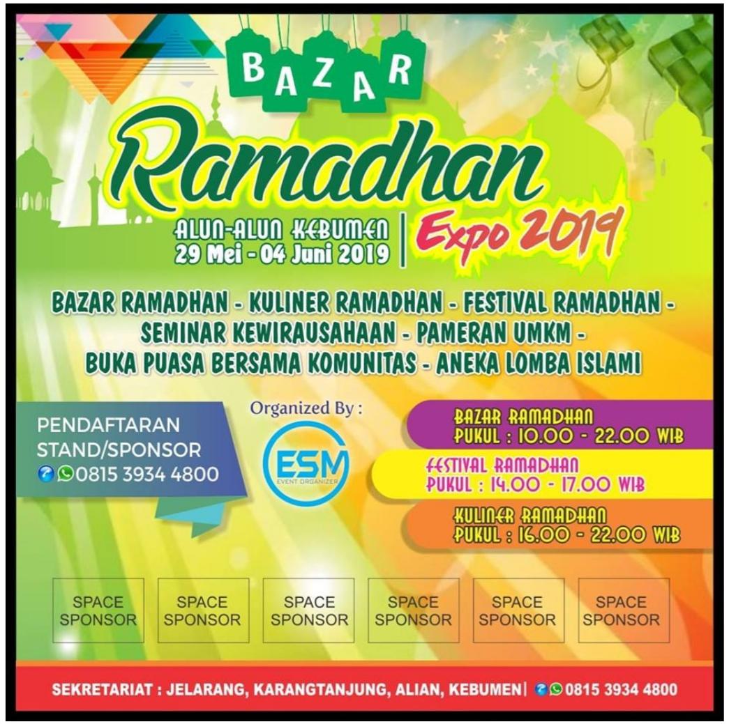 Jelang Lebaran, Ramadhan Expo Bakal Digelar di Alun-alun Kebumen
