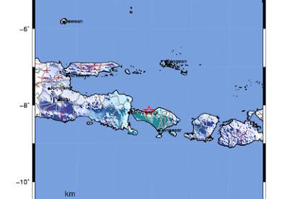 Gempa berkekuatan M 5.1 mengguncang Buleleng Bali