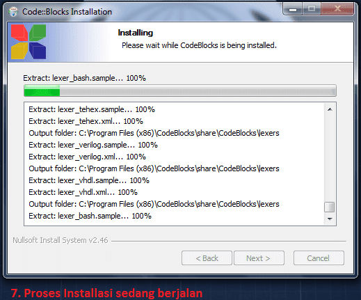 Tutorial Cara Install CodeBlocks di Dalam Microsoft Windows