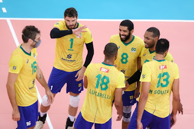 Jogadores da Seleção Brasileira em amistoso contra a Venezuela
