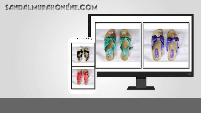 Pusat Sandal Classic Pita Wanita Dewasa | Sandal Murah Online