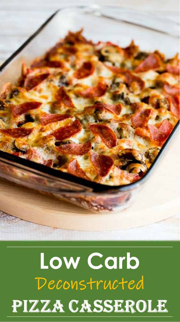 Low Carb Deconstructed Pizza Casserole Recipe