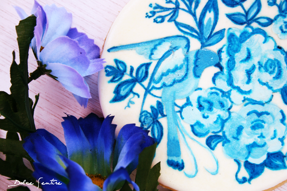 Un país en una galleta: Holanda {+Tutorial Galletas 'Efecto Cerámica'}  delft blauw cookies- blue pottery cookies