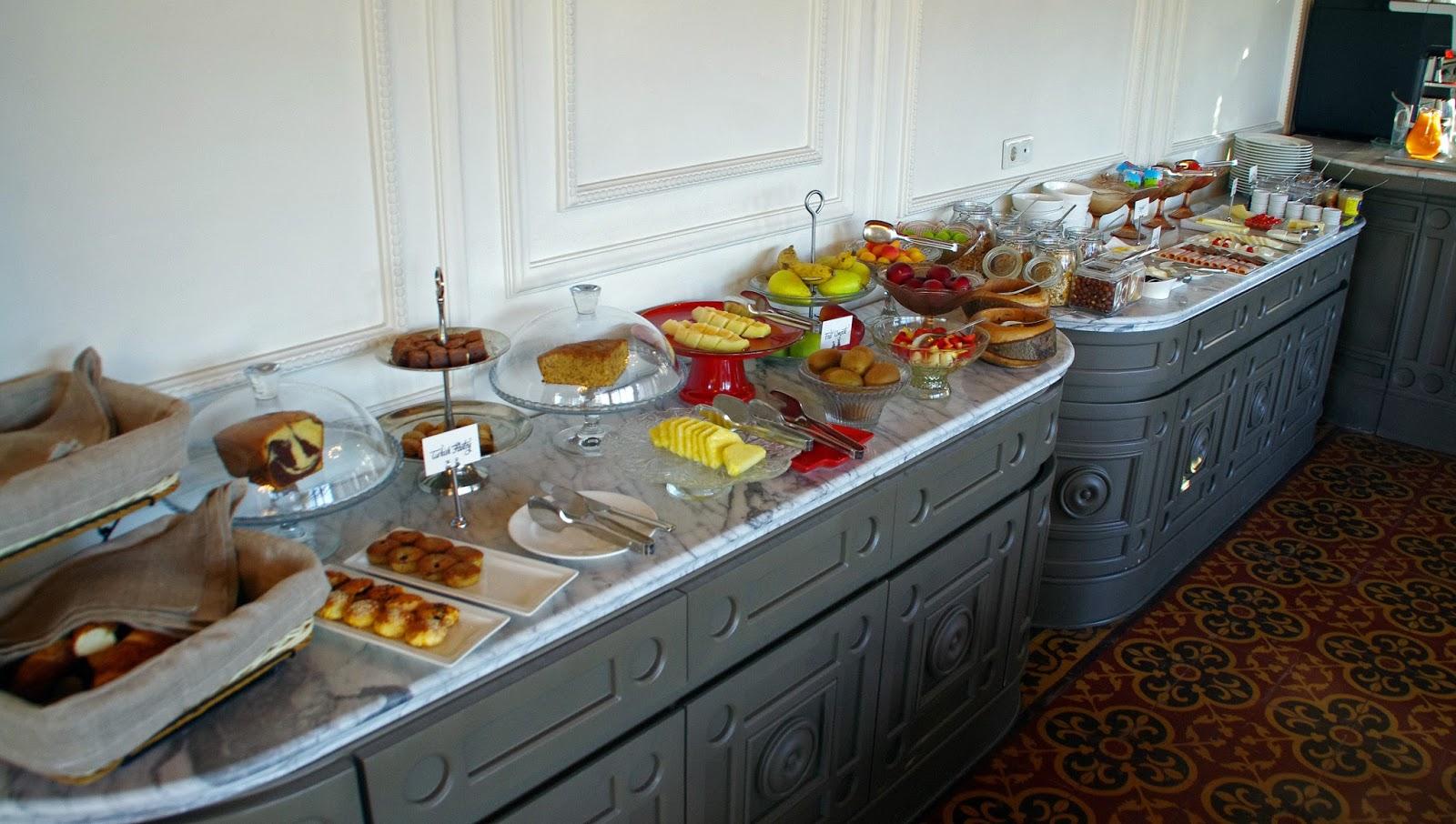 Breakfast at House Hotel Galatasaray