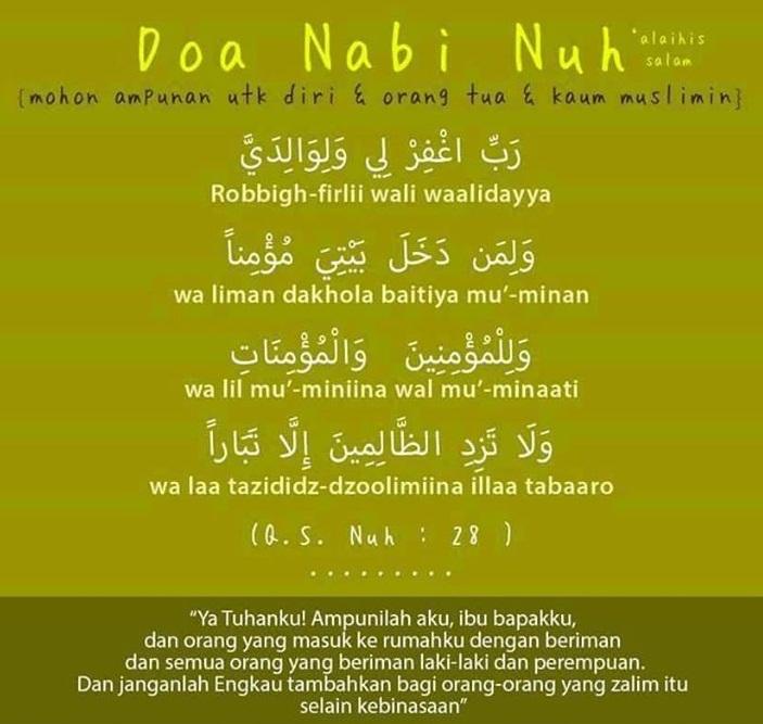 Doa-doa Mustajabah yang Dicontohkan oleh Para Nabi dan