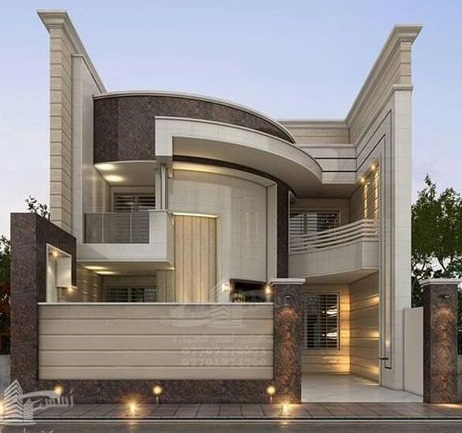 Best 60 modern house front facade design - exterior wall decoration 2019