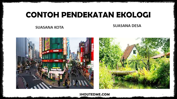 pendekatan geografi dan contohnya