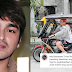 Eric Fructuoso turns tricycle driver during coronavirus pandemic