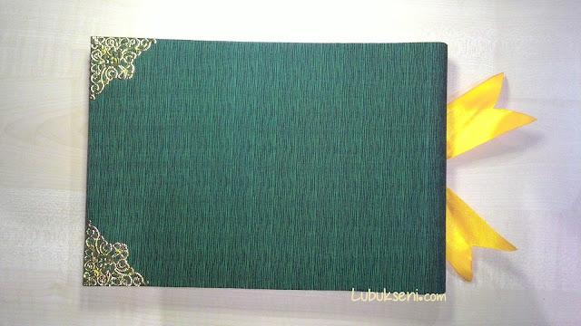 Guestbook reben kuning memukau, hijau mendamaikan.