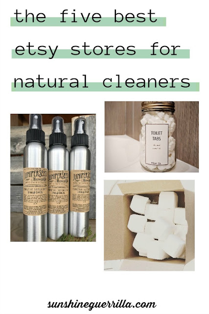 The Five Best Etsy Stores for Natural Cleaners and Detergents
