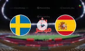 مشاهدة مباراة السويد واسبانيا بث مباشر بتاريخ 02-09-2021 تصفيات كأس العالم 2022: أوروبا