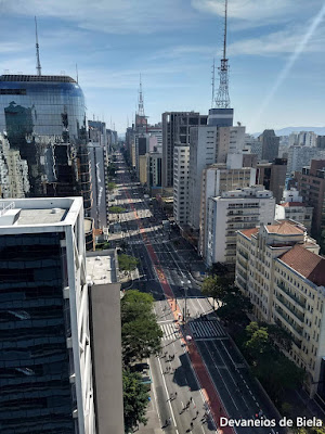 Vista Mirante SESC Avenida Paulista