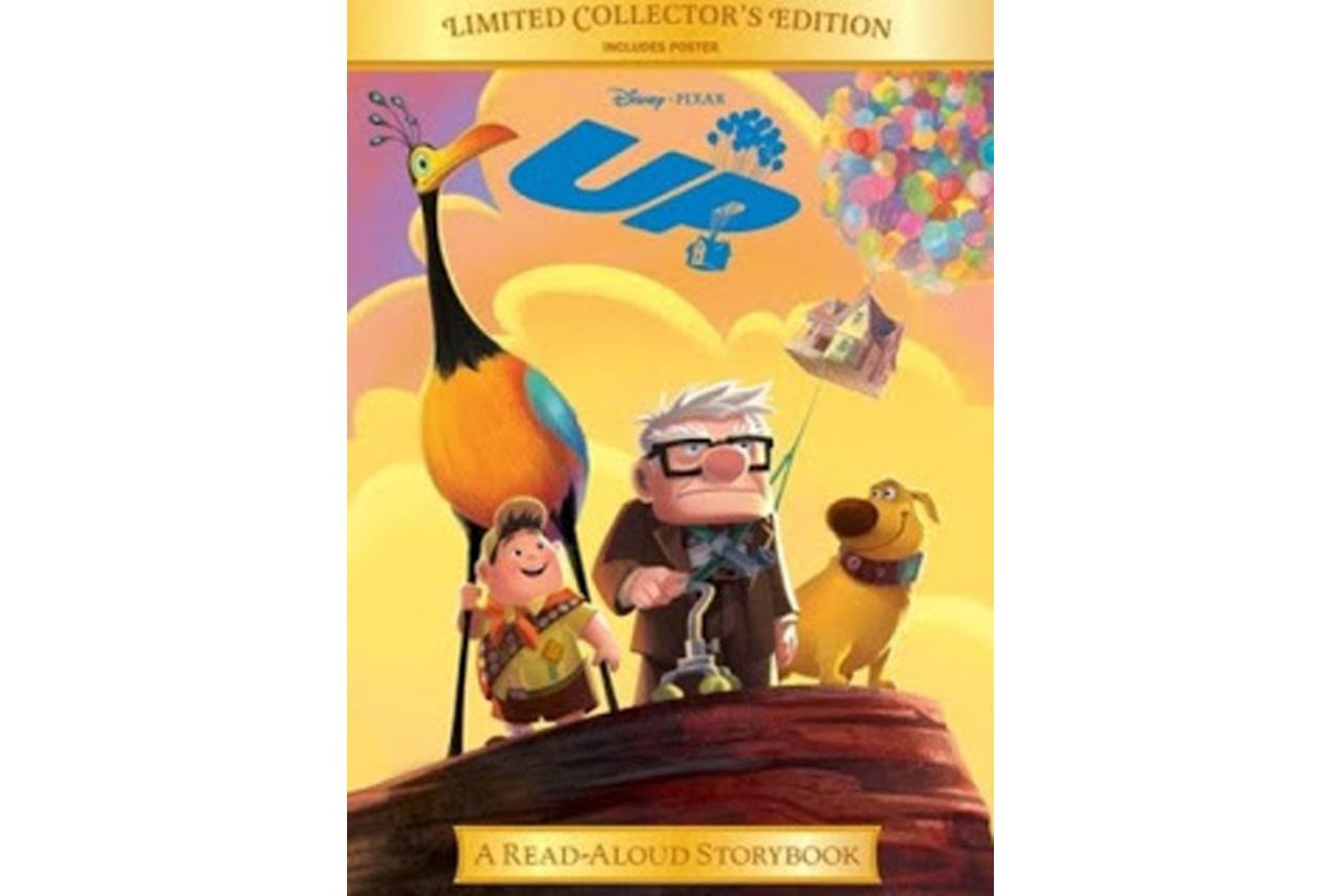 """كتاب فيلم ديزني """"فوق - Up"""" من مجموعة الكتب ذات الإصدار المحدود"""