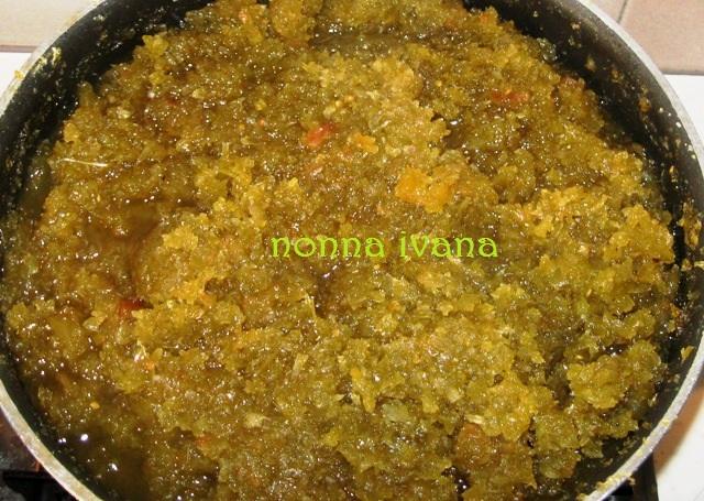 Cucinario di nonna ivana pomodori verdi confettura for A cucina ra nonna