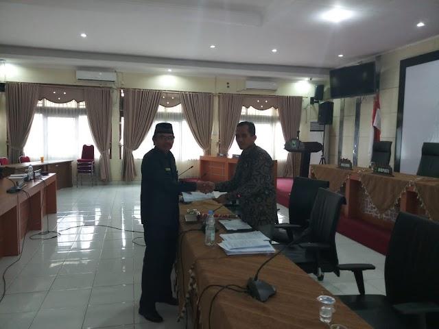 DPRD Padang Pariaman Gelar Rapat Gabungan Komisi Tentang 8 Rancangan Peraturan Daerah Yang Diusulkan