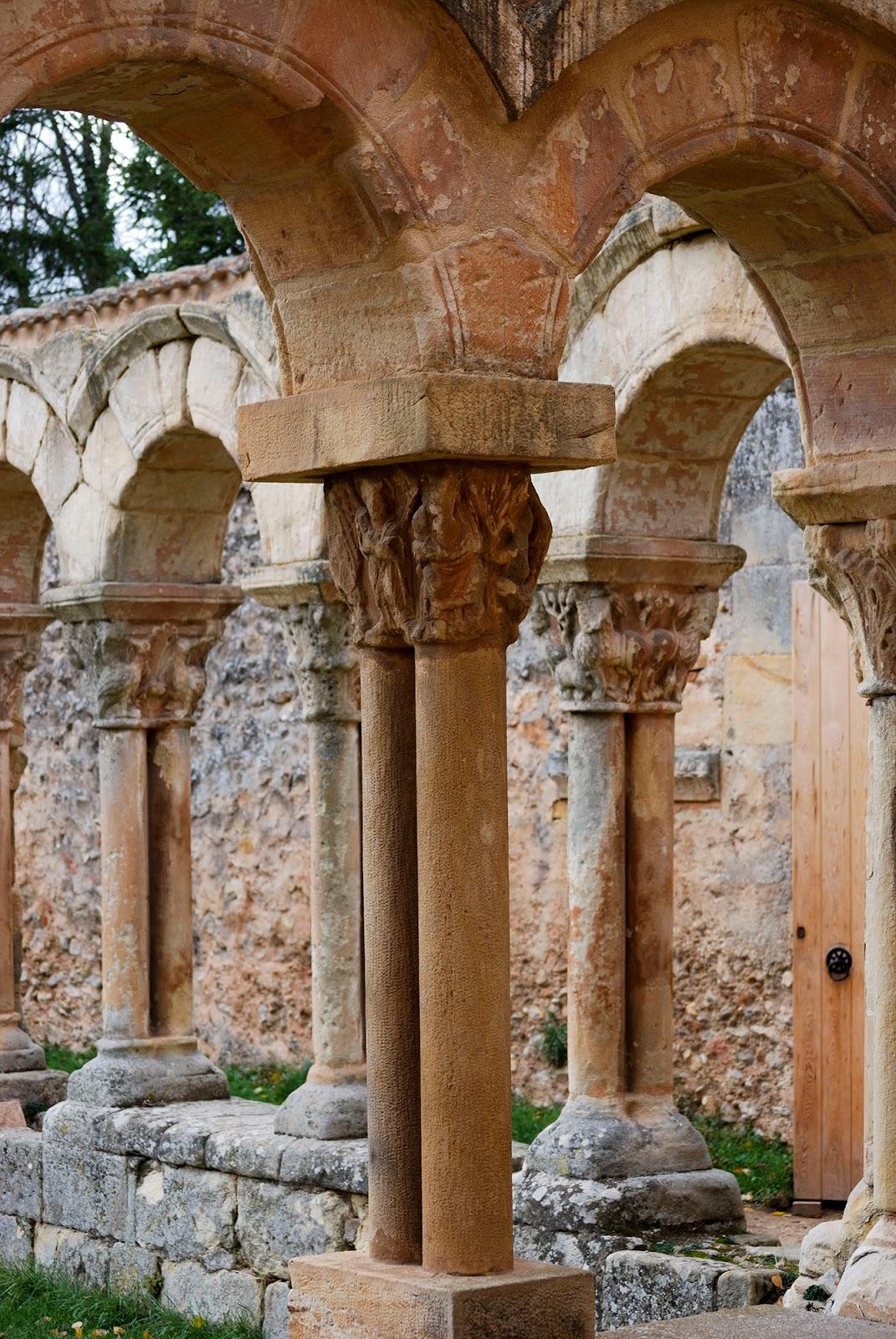 arcos monasterio san juan duero soria