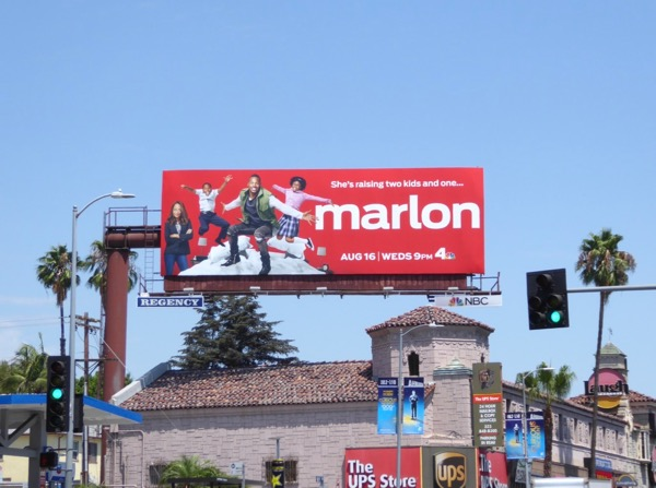 Marlon TV series billboard