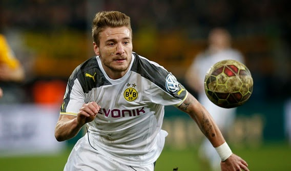 Ciro Immobile on Rodger's radar