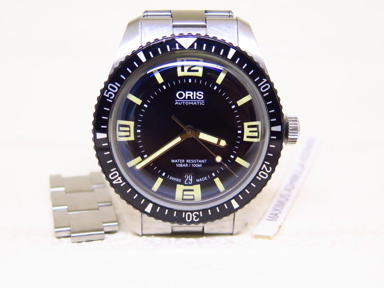 ORIS DIVER SIXTY FIVE HERITAGE with BRACELET - AUTOMATIC