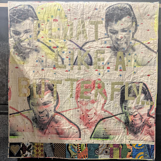 Float Like a Butterfly quilt by Chris English