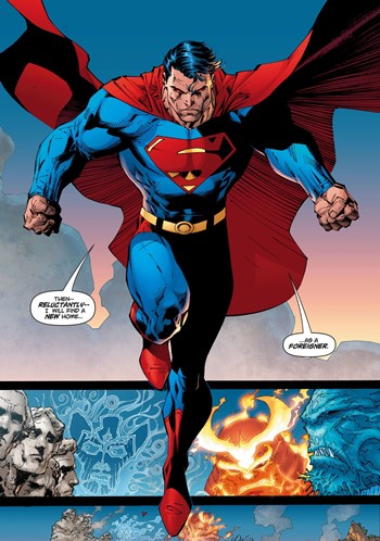 Superman en cómic
